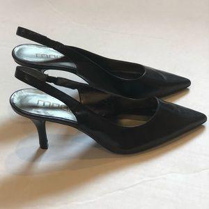 Moda Spana slingback pointed toe heel